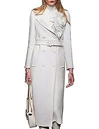 Amazon.com: Whites - Wool & Blends / Wool & Pea Coats: Clothing ...