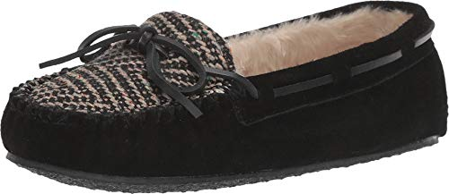 (Minnetonka Women's Print Cally Black 10 M US)