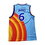 N\C Men's Basketball Jersey 6# Space Jam Movie
