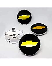 Auto Naafdoppen, voor Chevrolet-logo 68MM Auto Naafdoppen Stylingaccessoires Zonnebrandcrème Waterdicht Stofdicht