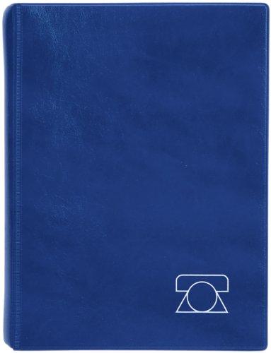 Brunnen - Agenda telefónica, tapa de espuma, 180 x 235 mm, color azul