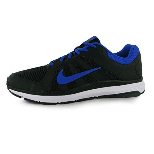 Nike Dart 12Scarpe da corsa da uomo, colore: nero/blu, Fitness, Sport Sneakers, Nero/Blu