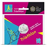 Corgi London 2012 50p Sports Coin - Triathlon