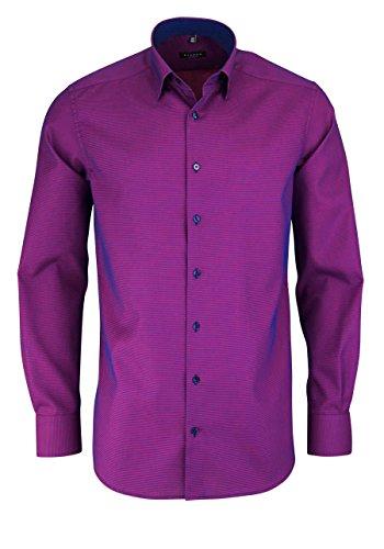ETERNA long sleeve Shirt MODERN FIT Fancy weave checked