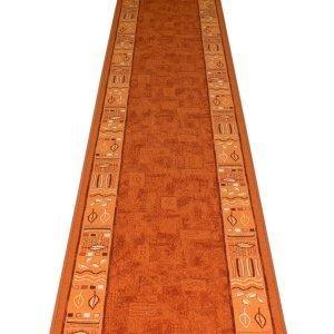 Teppichläufer Treppe amazon de ramses terracotta treppe teppich läufer