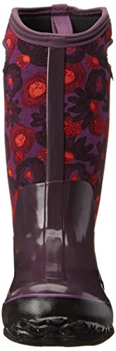 Bogs Watercolour Tall Plum Multi Wellies Womens Classic ZHzxnrZ