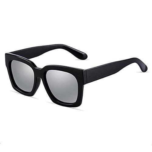 Blue Shades Protective de Ice Estilo Sunglasses Color silver Ladies Sol HLMMM Lens Hombre Wayfarer Gafas para Water Unisex Black Moolo UV400 qETBUwnFvW