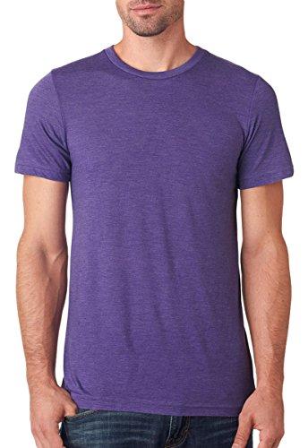 Bella 3413 Unisex Triblend Short Sleeve Tee - Purple Triblend, Medium