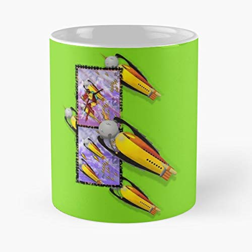 Spaceship Rocketship Space Astronaut - Best Gift Coffee Mugs Unique Ceramic Novelty Cup