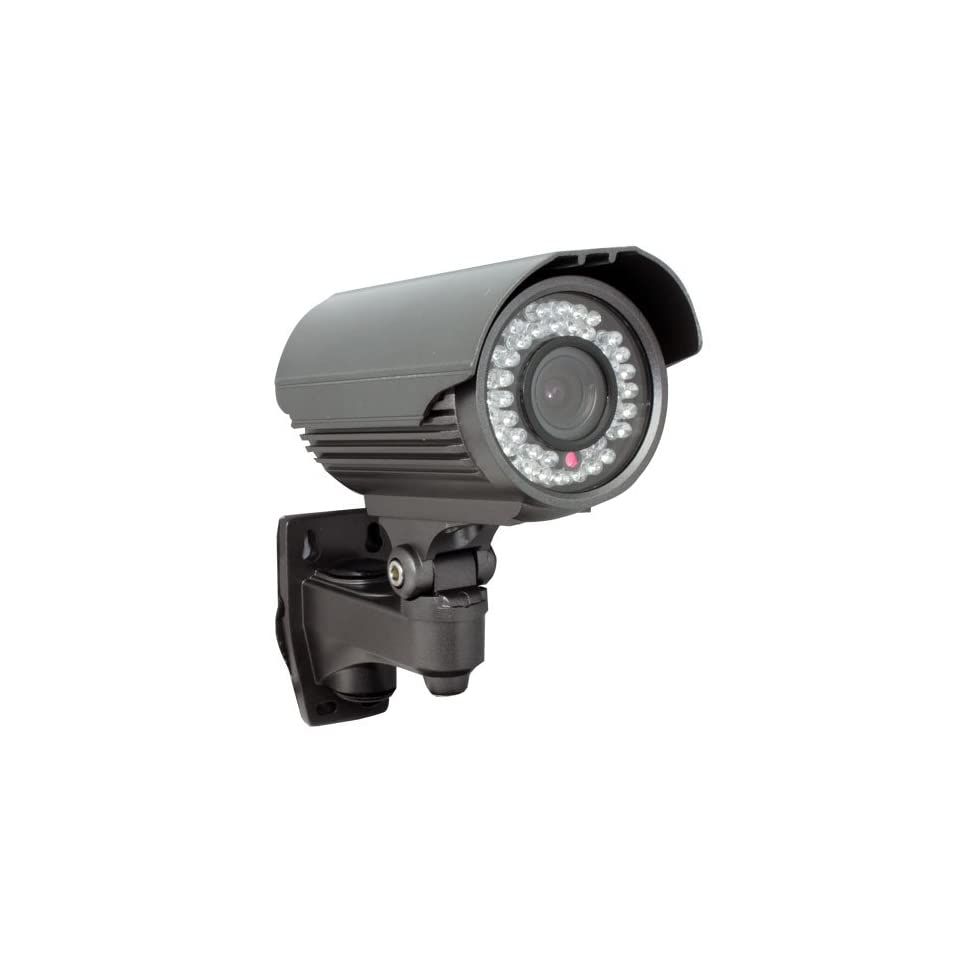 GW Security Inc GW706H 560 TV Lines Waterproof Day & Night IR Color Outdoor Security Camera   1/3 Inch SONY CCD, Vari Focal 4 9mm Lens