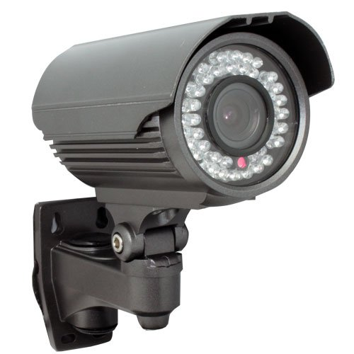 GW Security Inc GW706H 560 TV Lines Waterproof Day & Night IR Color Outdoor Security Camera - 1/3-Inch SONY CCD, Vari-Focal 4-9mm Lens