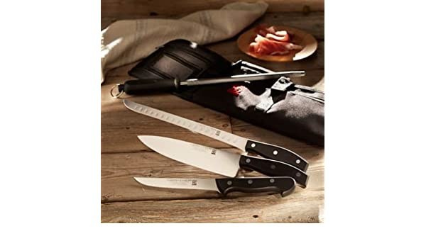 Amazon.com: Professional Jamón Knife Set with Canvas Case ...