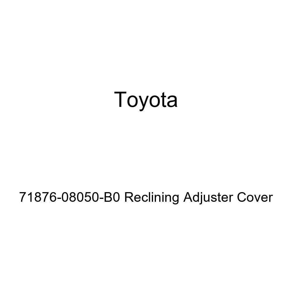 TOYOTA Genuine 71876-08050-B0 Reclining Adjuster Cover