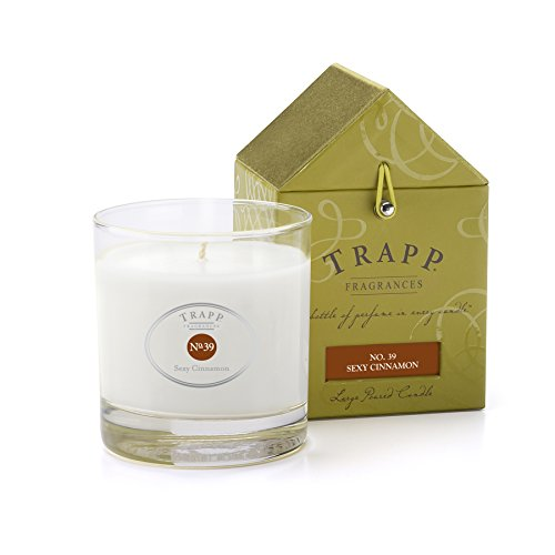 Trapp Signature Home Collection No. 39 Sexy Cinnamon Poured Scented Candle, 7-Ounce