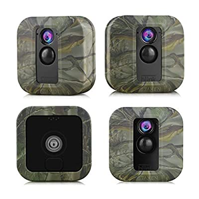 Silicone Skins Compatible for Blink XT Outdoor Cameras, Tyrone Camouflage Protective Case Cover for Blink XT Outdoor Home Security Camera Accessories