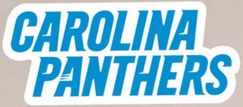 Panthers Logo Wall - Carolina Panthers FATHEAD Team Logo Sign Official NFL Vinyl Wall Graphic 17