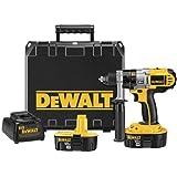DEWALT DCD950KX 18-Volt XRP 1/2-Inch Drill/Driver/Hammerdrill Kit (Certified Refurbished)