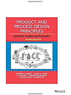 Chemical reaction engineering 3rd edition octave levenspiel product and process design principles synthesis analysis and evaluation fandeluxe Image collections