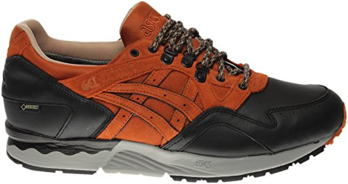 Round Black;brown Toe Shoe Lyte Running G Gel Leather Men TX V ASICS Red Tq7CYwc