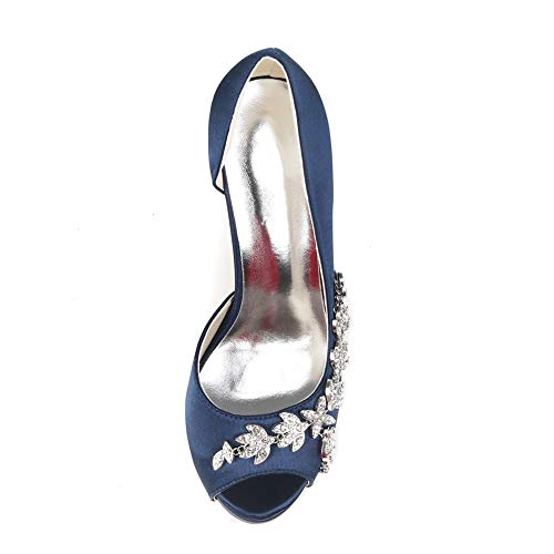 Donna Bocca Multicolore Donna Tacchi Silp 11cms Toe Sandali Alti Ivory Con Strass Moojm Su 8qwfUX