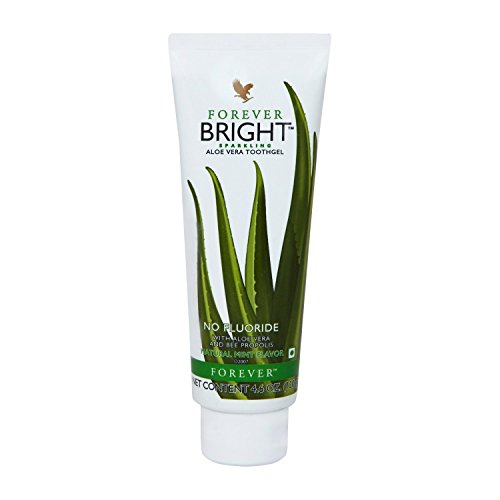 Forever Living Bright Aloe Vera Toothgel Natural Mint Flavored Toothpaste (130 ()