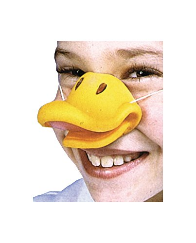 Nose Duck W Elastic Mask Halloween Costume - Most Adults