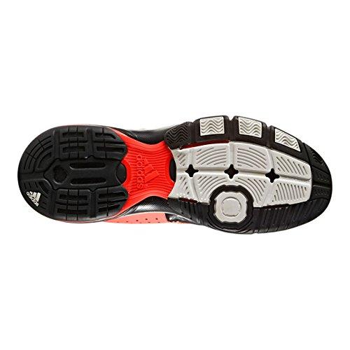 adidas Exadic, Zapatillas de Balonmano para Hombre Rojo (Rojsol/Ftwbla/Negbas)