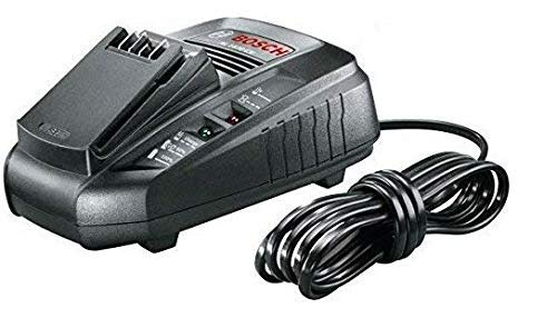 Bosch Genuine AL1830CV Battery Charger (The UK/GB 3-Pin Plug Version) (To Charge: Bosch 18V Batteries (as noted below)) c/w Operating Manual + STANLEY KeyTape (image shown) + Cadbury Chocolate Bar Bosch Tools