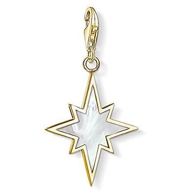 Thomas Sabo Charm pendant triangle gold yellow gold-coloured Y0031-413-39 Thomas Sabo MgypQGpu