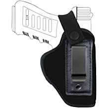 Creatrill IWB Holster Fits GLOCK 17 19 22 23 32 33; S&W M&P Shield 9mm.40.45 ACP; Ruger LC9; Spring field XD All Similar Size Pistols Concealed Carry In The Waistband Gun Holster