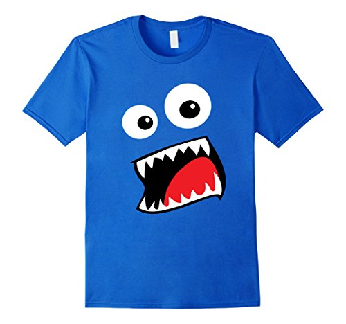 Mens Monster Halloween Costume Shirt Funny Matching Couple Group 3XL Royal Blue