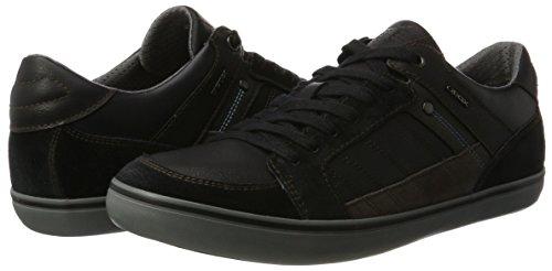 Negro Zapatillas U Para D Geox Box black Hombre AwvqtwYOz