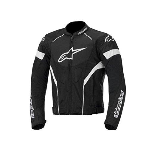 Alpinestars T-GP Plus R Air Men's Street Motorcycle Jackets - Black/White / Medium
