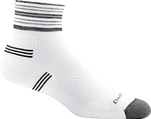 Darn Tough Coolmax Vertex 1/4 Ultra-Light Sock - Men's White Medium