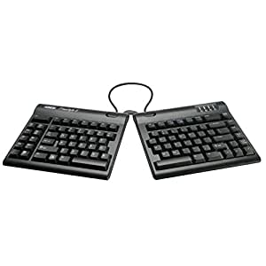 """Kinesis Freestyle2 Ergonomic Keyboard for PC (20"""" Extended Separation)"""