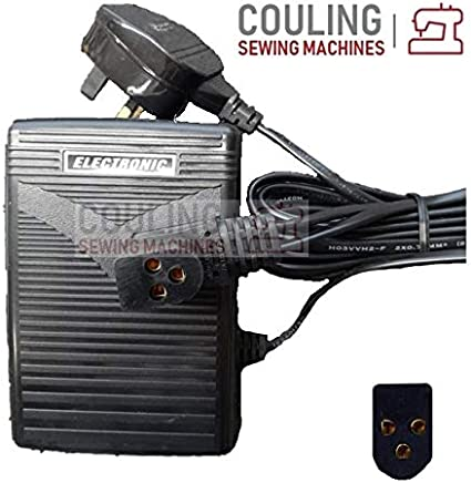 Original Singer máquina de coser pie pedal de control 3 pin D ...