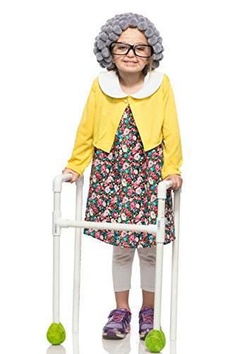 Girl's Old-Timer Granny Costume (Grandma Costume Ideas)