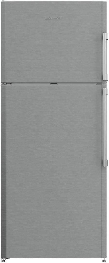 Blomberg BRFT1522SSL 28 Inch Fingerprint Resistant Stainless Steel Freestanding Counter Depth Top Freezer Refrigerator (Left Hinge)
