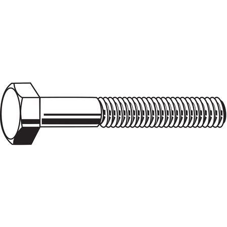 Hex Head Cap Screws 304 UNC Coarse 25 pk. 1//4-20 x 4-1//2 SS Grade 18-8