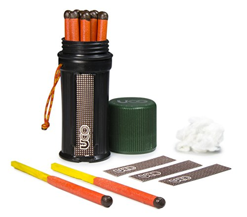uco-titan-stormproof-match-kit-with-waterproof-case-replacement-strikers-and-12-matches