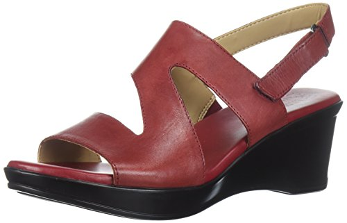 Red Valerie Women's Naturalizer Wedge Sandal FIWqP