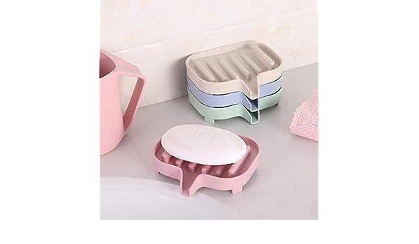 Gotian - Jabonera flexible para baño (11,5 x 8 x 3 cm): Amazon.es ...