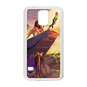 Charming lion and lovely animals Cell Phone Case for Samsung Galaxy S5