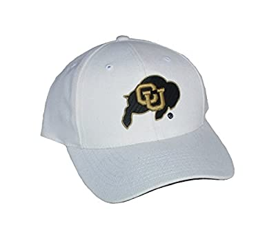 Colorado Buffaloes Velcro Adjustable One Size Fits All NCAA Authentic Hat Cap - OSFA White from Puma