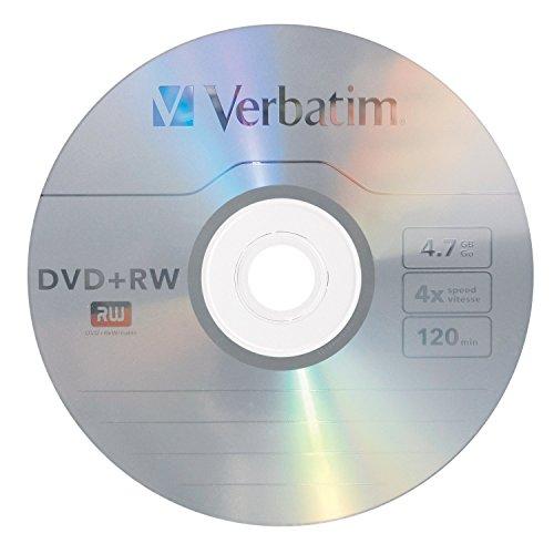 Verbatim 94520 4.7 GB 1x- 4x ReWritable Disc DVD+RW, 1-Disc
