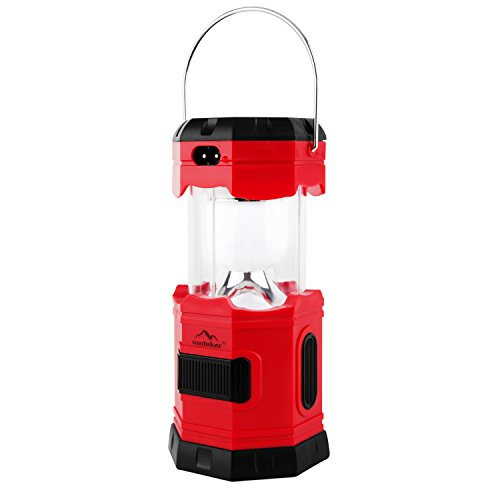 Camping Light Solar Rechargeable Collapsible LED Camping Lan