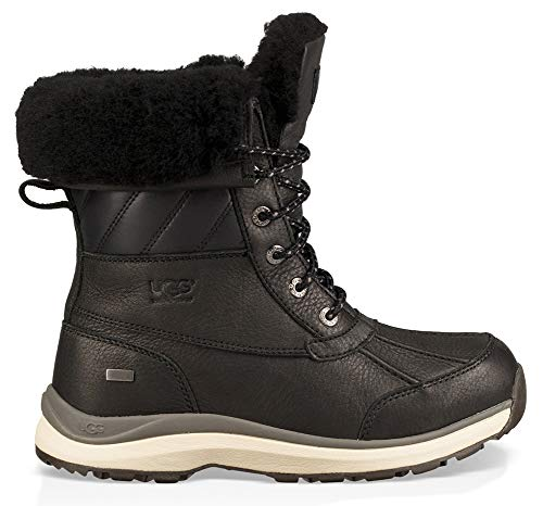 UGG Women's Adirondack Quilt Boot III Black 10 B US