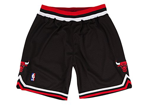 Mitchell & Ness Chicago Bulls 1997-98 Shorts Black Replica Large