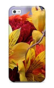 Ryan Knowlton Johnson's Shop Best 1053277K67373124 Iphone 5c Hybrid Tpu Case Cover Silicon Bumper Fall Flowers