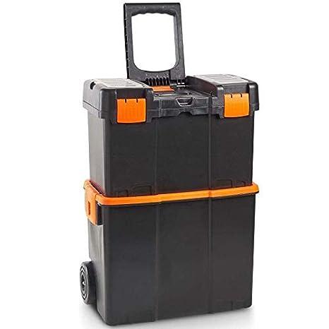 Generic - Caja de Herramientas para Almacenamiento de Herramientas con Ruedas, con Ruedas: Amazon.es: Electrónica